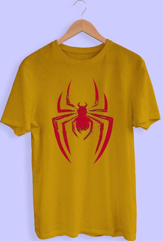Spider Graphic Design T-Shirt For Men